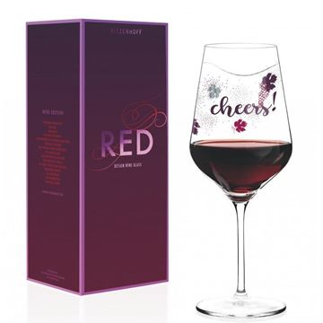 Picture of Red Wine Glass Red Ritzenhoff - 3000029