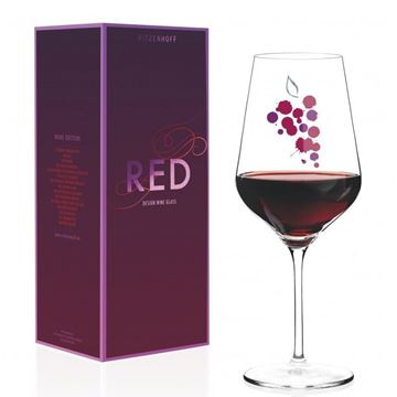 Picture of Red Wine Glass Red Ritzenhoff - 3000027