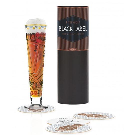 Picture of Beer Glass Black Label Ritzenhoff -1010244