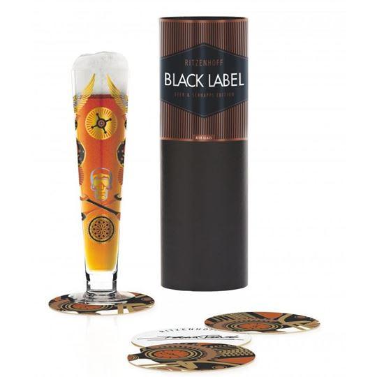 Picture of Beer Glass Black Label Ritzenhoff -1010243