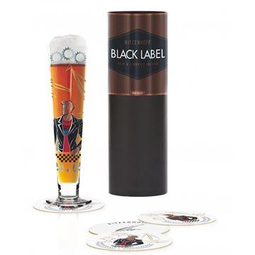 Picture of Beer Glass Black Label Ritzenhoff - 1010238
