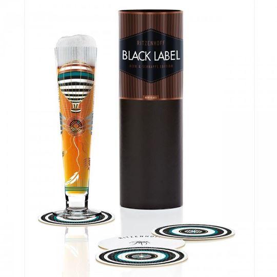 Picture of Beer Glass Black Label Ritzenhoff - 1010230
