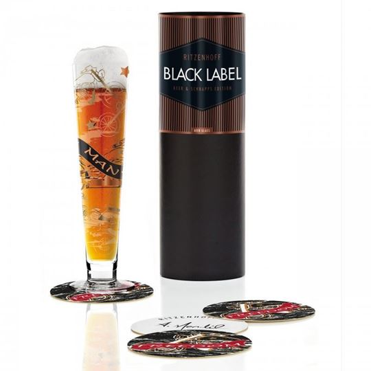 Picture of Beer Glass Black Label Ritzenhoff - 1010225