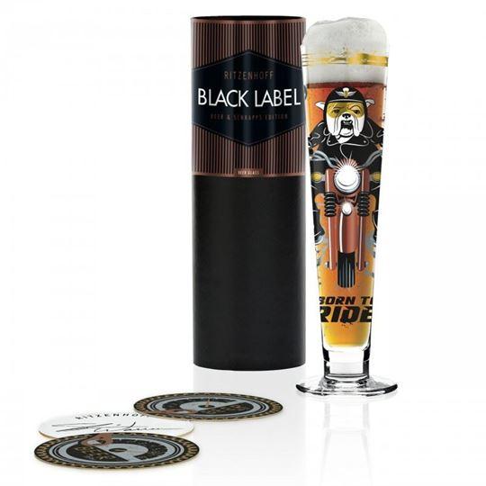 Picture of Beer Glass Black Label Ritzenhoff - 1010245