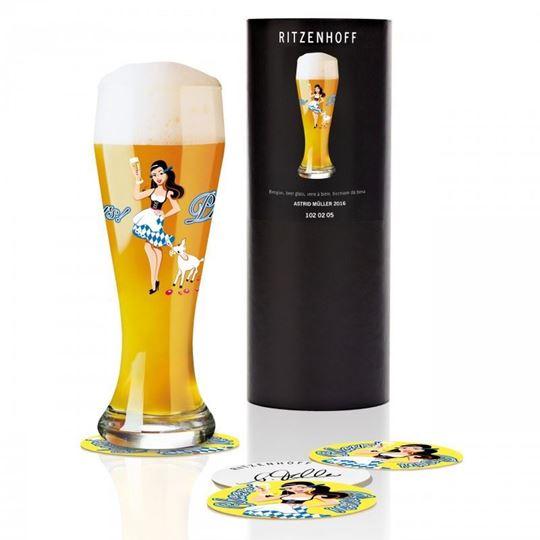 Picture of Beer Glass Weizen Ritzenhoff -1020205