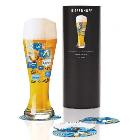 Picture of Beer Glass Weizen Ritzenhoff- 1020226