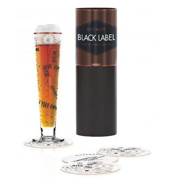 Picture of Beer Glass Black Label Ritzenhoff- 1010239