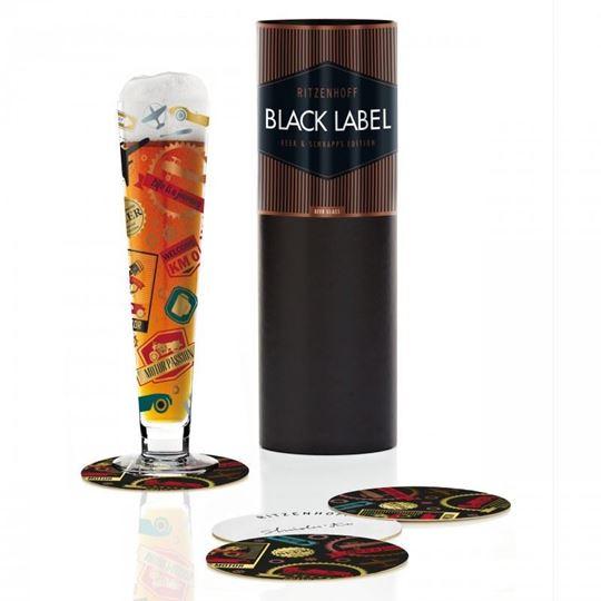 Picture of Beer Glass Black Label Ritzenhoff -1010214
