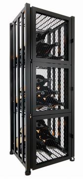 Picture of Case & Crate 2.0 Locker | 48-bottle metal wine storage system