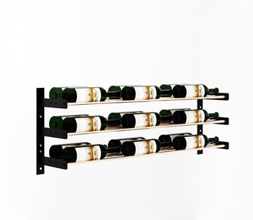 Picture of Evolution Series Wine Wall 15″ Wall Mounted Wine Rack (9 to 27 bottles)