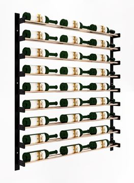 Picture of Evolution Wine Wall 45″ Wall Mounted Wine Rack (27 to 81 bottles)