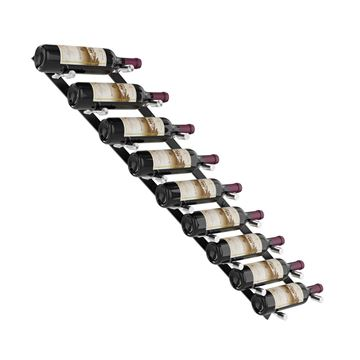 Picture of 9 bottles, Vino Pins Flex Wall Mounted Metal Wine Rack system