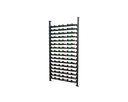 Picture of WEBKIT3 - 48 Bottles, Modular metal wine rack- Frontenac