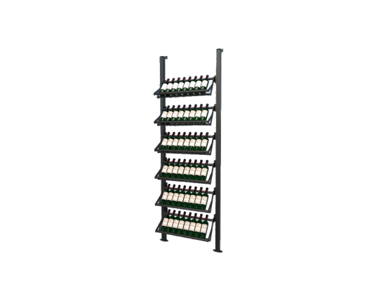 Picture of WEBKIT5 - 48 Bottles, Modular metal wine rack- Frontenac