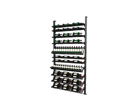 Picture of WEBKIT7- 113 Bottles, Modular metal wine rack- Frontenac